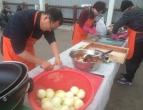 서귀포교회 중앙동 무료급식 봉사