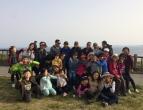 서귀포교회 천연계(송악산)탐사 후 회식(4. 7)